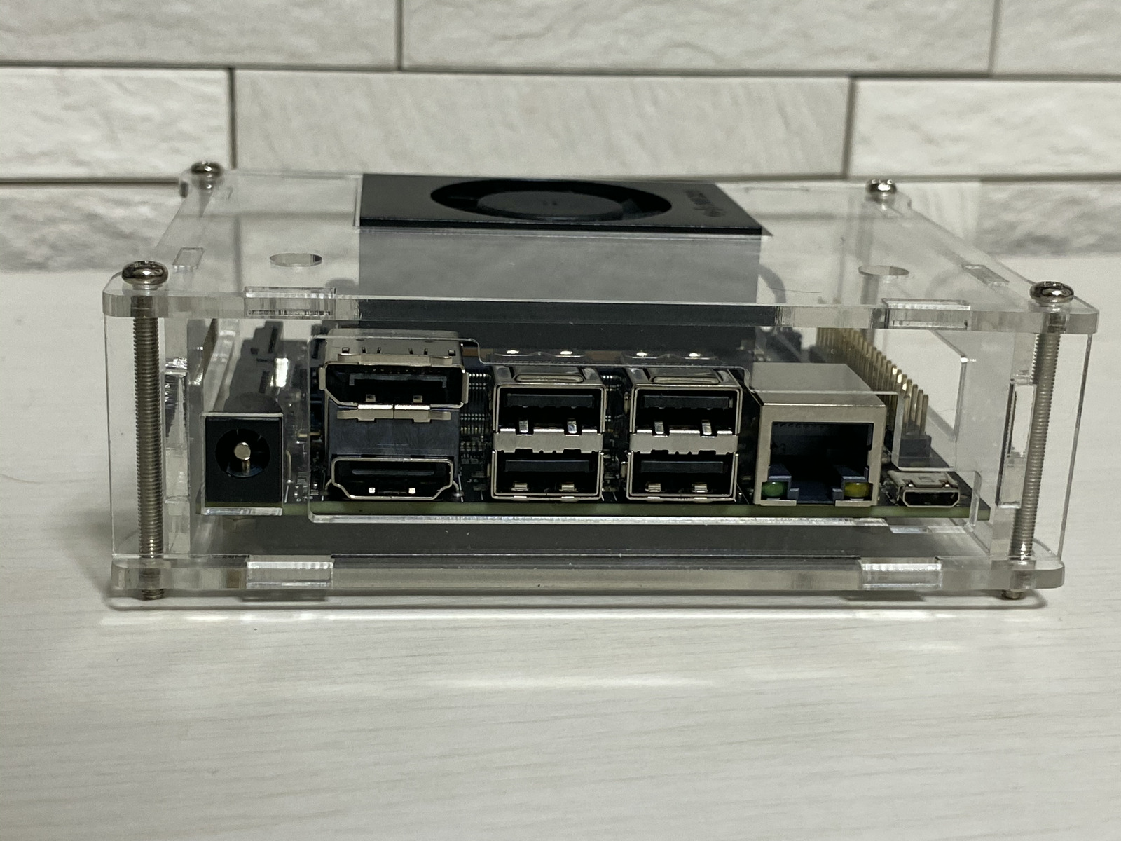Acrylic Case I/O Port